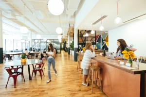 The WeWork offices in Chelsea in New York.