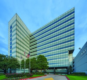 Hartman REIT leases a full floor of office space at 400 North Belt in Houston to a law firm.