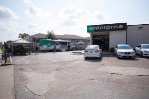 Enterprise Rent-A-Car has located a mobile rental facility at 4665 N Braeswood in the Meyerland area of Houston.