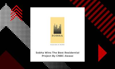 SOBHA Declared The Best Luxury Residential Project By CNBC Awaaz