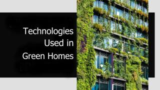 The Expanding Footprint of Green Housing