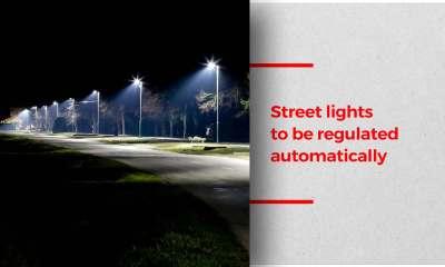 New technology to regulate streetlight brightness