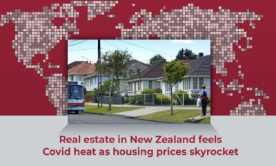 Real estate in New Zealand feels Covid heat as housing prices skyrocket