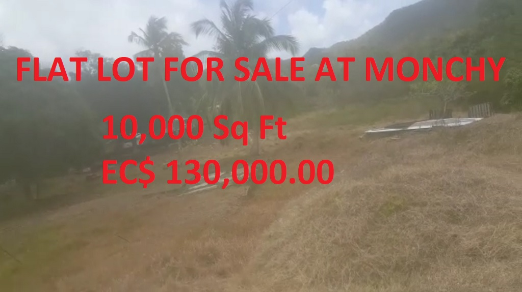 land for sale at monchy st lucia
