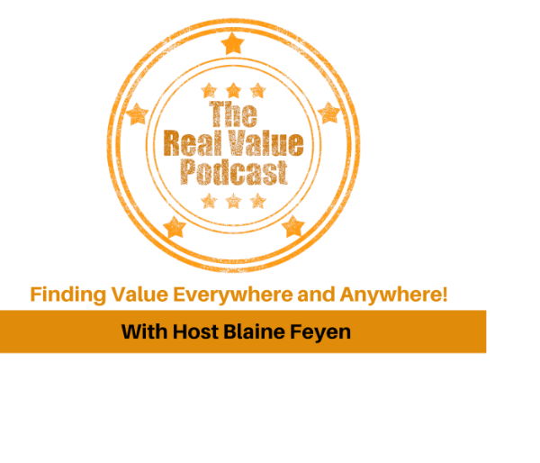 The Real Value Podcast My top Podcast to listen to.  Blaine Feyen brings excellent content in life, business and appraising.