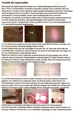 Flugblatt-Laser-Vorderseite