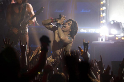 Tom Cruise als Stacee Jaxx in Rock of Ages