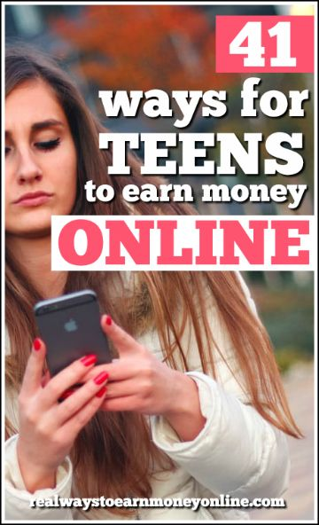Online jobs for teens. See these 41 ways teens can earn money online.
