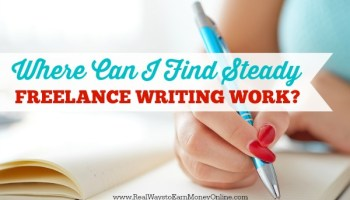 sites looking for writers now byline included  where can i steady lance writing work