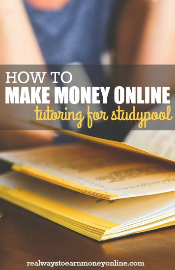 How to become a Studypool tutor and make money online, working whenever you want! #workfromhome #workathome #tutoringjobs #studypool #wahm #remotejobs #flexiblejobs