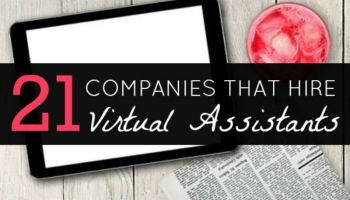 21 work at home virtual assistant jobs to apply for
