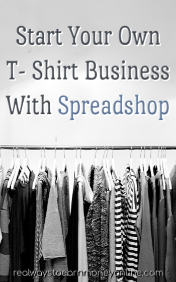 Spreadshop review - Get paid to design T-shirts.