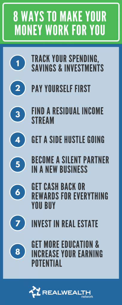 8 Ways To Make Your Money Work for You