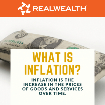 Image with definition of Inflation