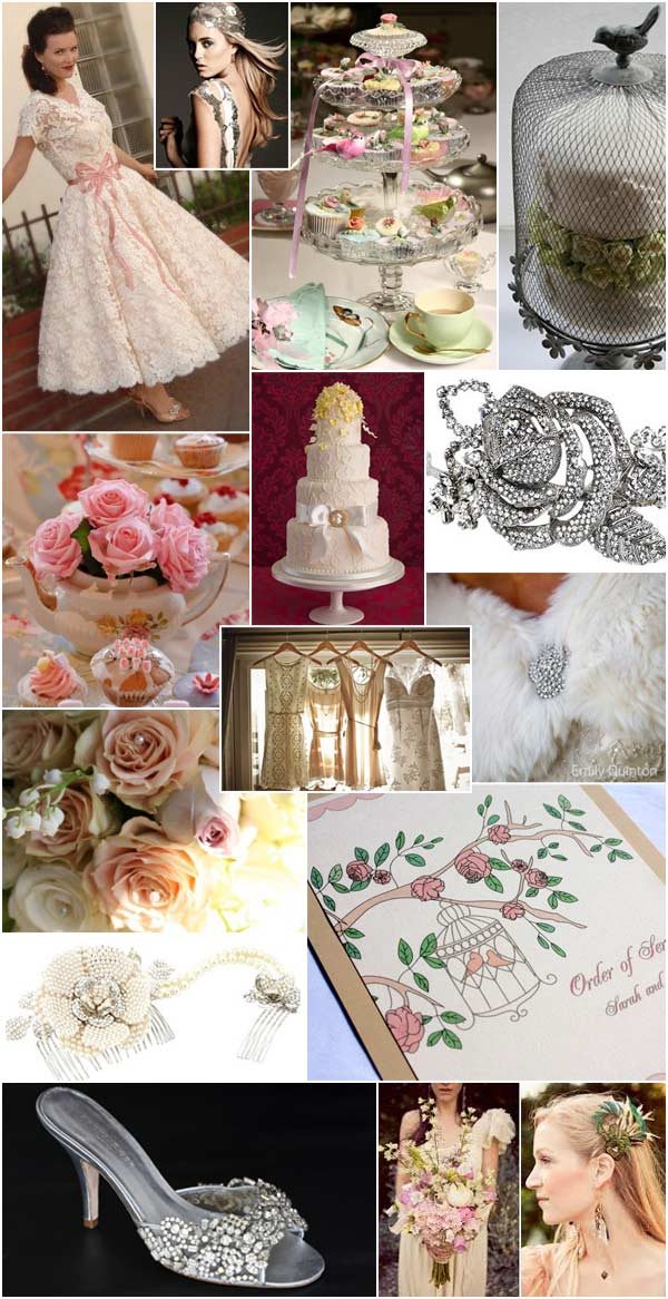 Vintage Style Wedding Inspiration  Real Wedding
