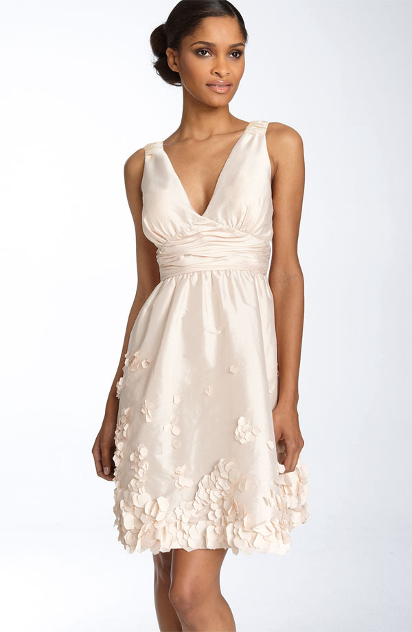 Dazzling dresses always a bridesmaid nordstrom short for Nordstrom short wedding dresses