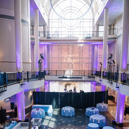 Tsakopoulos Library Galleria Downtown Sacramento Wedding Venue Real Weddings Magazine