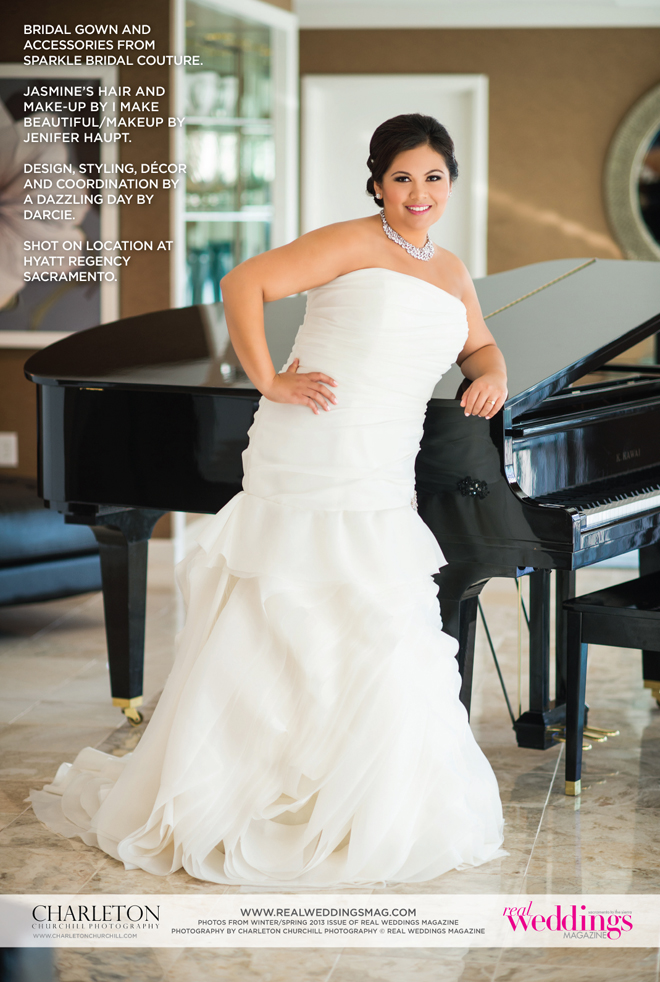 Photo by Charleton Churchill Photography (c) Real Weddings Magazine
