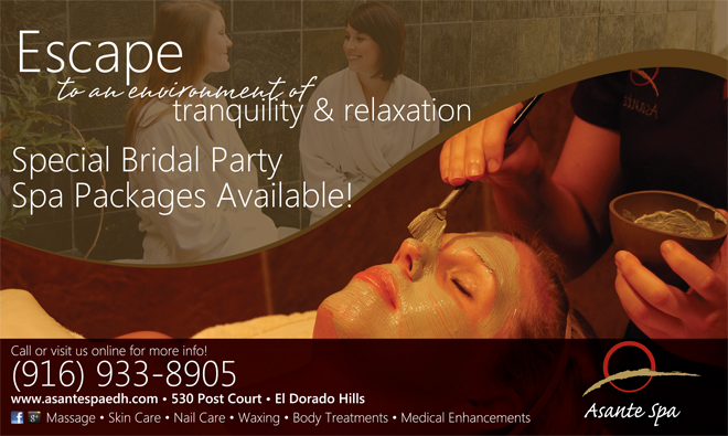 Best Sacramento Spa | Best Northern California Spa | Best El Dorado Hills Spa | Bridal Shower Spa Packages