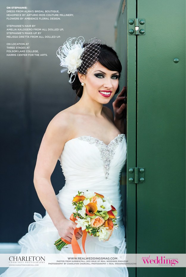 Real Weddings Cover Model Finalist: Stephanie Lozano {Drama Queens}