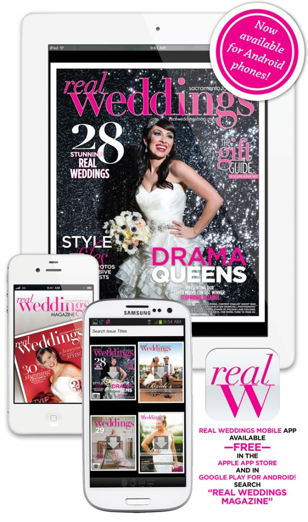 Do you have the Real Weddings Magazine FREE Mobile App?