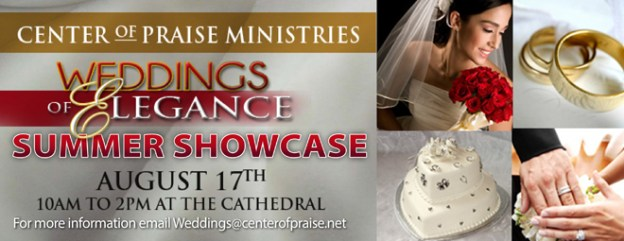 Today's the Weddings of Elegance Summer Showcase!