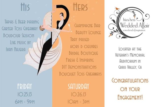 Reminder…His & Hers Wedding Affair Starts TODAY!