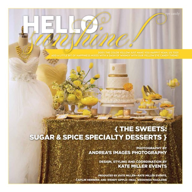 Eye Candy: Hello Sunshine {The Sweets from Sugar & Spice Specialty Desserts}