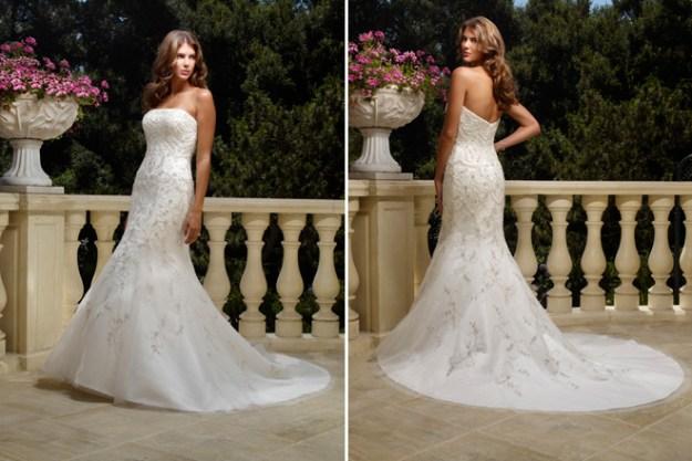 Real Weddings Dazzling Dresses: Beautiful Bling