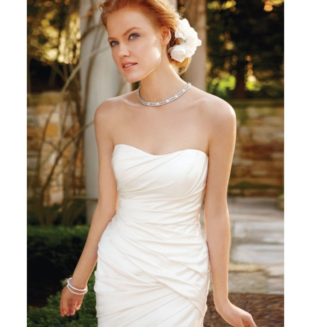 Real Weddings Dazzling Dresses: Simple & Sophisticated