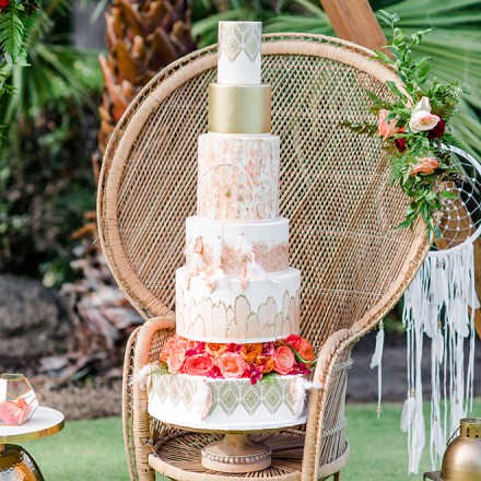 Above and Beyond Cakes Elk Grove Sacramento Wedding Desserts Boho Bride Real Weddings Magazine