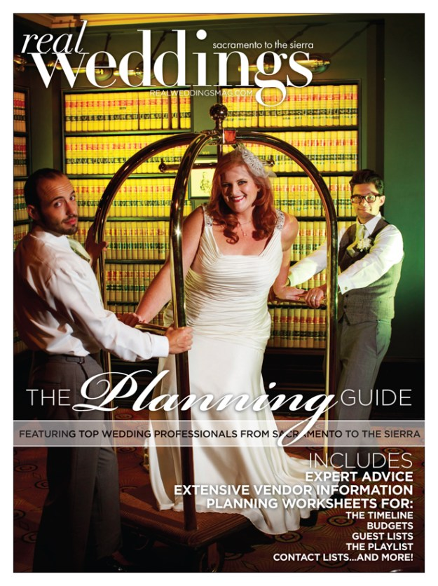 Sacramento Wedding Inspiration: The Planning Guide Covers!