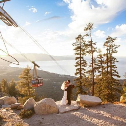 Heavenly Mountain Resort-South Lake Tahoe Ski Wedding Venue - Real Weddings Magazine
