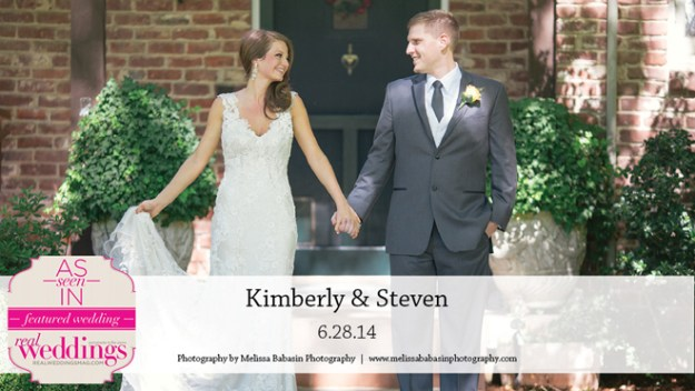 Sacramento Weddings:  Kimberly & Steven {Featured Real Wedding from the Winter/Spring 2015 Issue of Real Weddings Magazine}