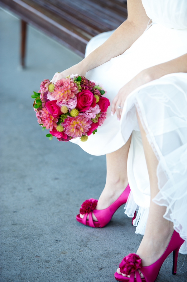 Real Weddings Eye Candy: Gorgeous Bouquets from our Cover Model Photo Shoot!
