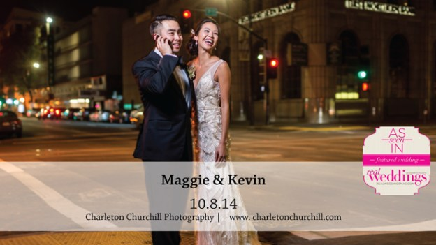 Sacramento Wedding Inspiration: Maggie & Kevin {from the Summer/Fall 2015 Issue of Real Weddings Magazine}