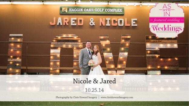 Sacramento Wedding Inspiration: Nicole & Jared {from the Summer/Fall 2015 Issue of Real Weddings Magazine}