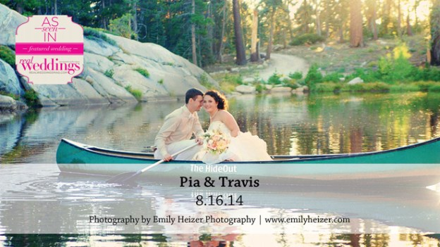 Lake Tahoe Wedding Inspiration: Pia & Travis {from the Summer/Fall 2015 Issue of Real Weddings Magazine}