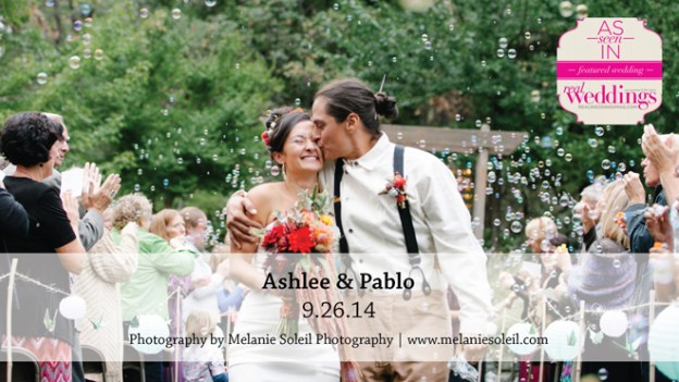 Sacramento Wedding Inspiration: Ashlee & Pablo {from the Summer/Fall 2015 Issue of Real Weddings Magazine}