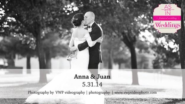 Sacramento Wedding Inspiration: Anna & Juan {from the Summer/Fall 2015 Issue of Real Weddings Magazine}