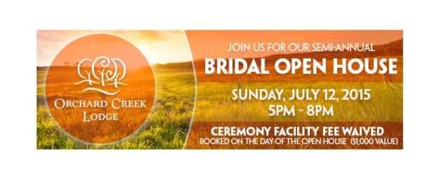 Orchard Creek Lodge_Bridal Open House_Sacramento Wedding Event
