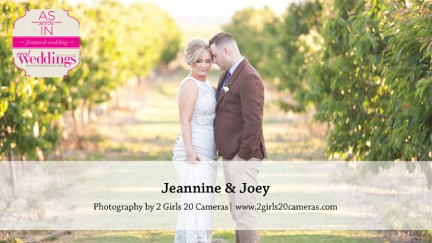 Sacramento Wedding Inspiration: Jeannine & Joey {from the Winter/Spring 2016 Issue of Real Weddings Magazine}