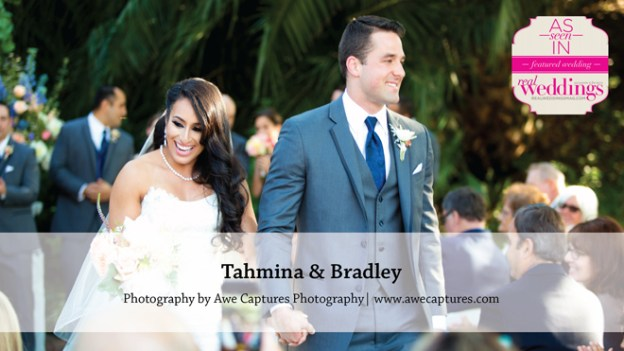 Sacramento Wedding Inspiration: Tahmina & Bradley {from the Winter/Spring 2016 Issue of Real Weddings Magazine}