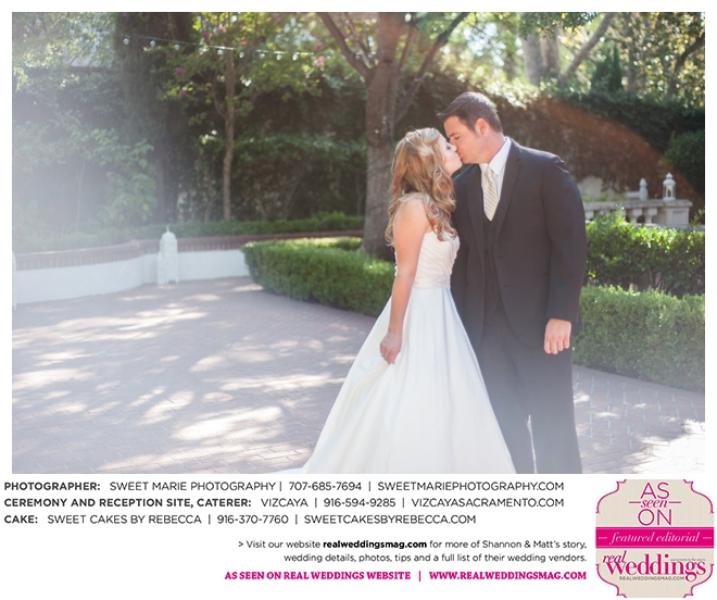Sacramento Weddings: Real Weddings Wednesday {Shannon
