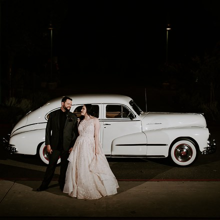 Sentimental Journey Vintage Transportation Sacramento Wedding Limo Car Trasnport Real Weddings Magazine
