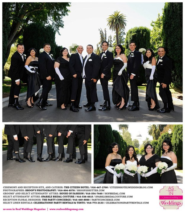 The Real Brides Magazine: Sacramento Wedding Inspiration: AJ & Rob {from The Winter