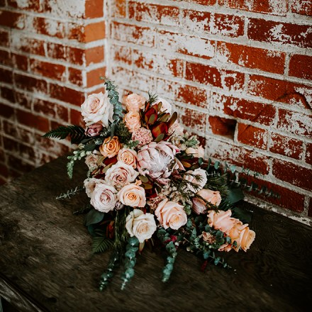 Fifty Flowers Nationwide Floral Shipping DIY Flowers Sacramento Real Weddings Magazine