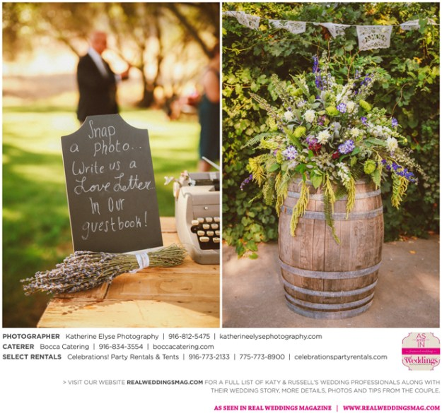 The Real Brides Magazine: Pilot Hill Wedding Inspiration: Kathryn & Russell {From