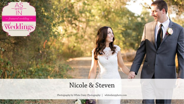 Sacramento Wedding Inspiration: Nicole & Steven {From the Summer/Fall 2016 Issue of Real Weddings Magazine}