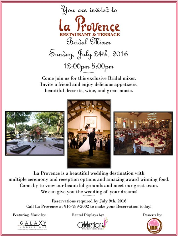 La_Provence_Roseville_Wedding_Venue_bridal mixer flyer 2016